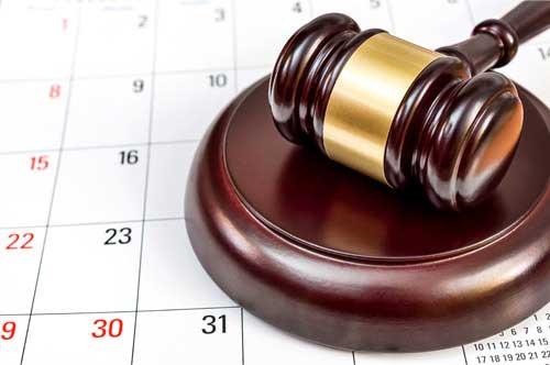 離婚裁判の流れと、裁判終了までの期間について